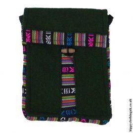 Green-Nepalese-Wool-Passport-Bag