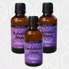 Massage and Bath Essential Oils