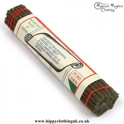 Natural Herbal Tibetan Incense Sticks