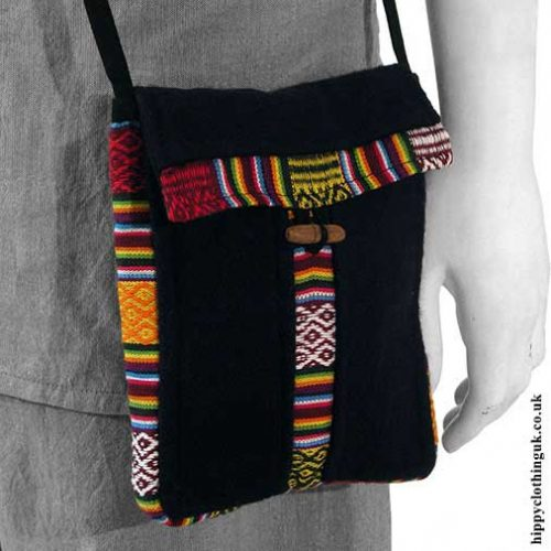 Nepalese-Wool-Passport-Bag
