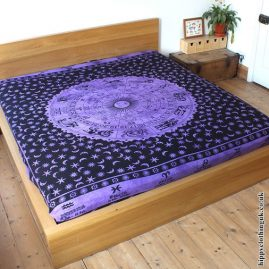 Purple Zodiac Throw