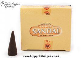 Satya Sai Baba Super Sandal Dhoop Incense Cones
