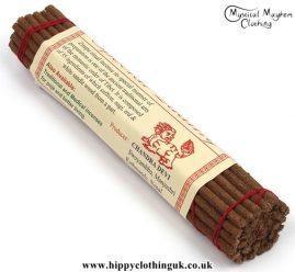Snowlion Tibetan Incense Sticks, Saffron, Nagi, Red and White Sandalwood