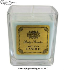 Baby Powder Soya Bean Wax Jar Candle