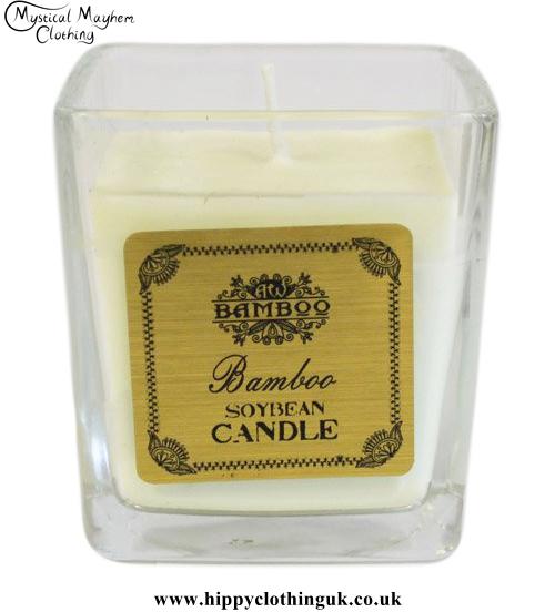 Bamboo Soya Bean Wax Jar Candle