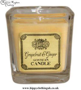 Grapefruit & Ginger Soya Bean Wax Jar Candle