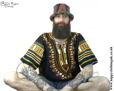 Hippy Festival Rim Hat at Mystical Mayhem Clothing