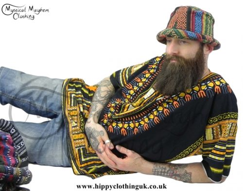 Hippy Festival Rim Hat at Mystical Mayhem Clothing and gifts