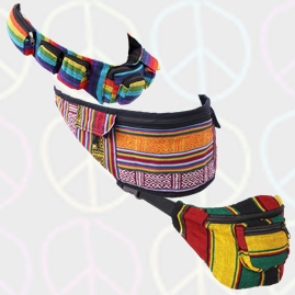 Hippy Hip Bags, Bum Bags, Money Bags