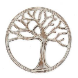 Round-White-Handmade-Wooden-Tree-of-Life-Plaque