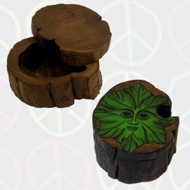 Thai Wooden Log Boxes