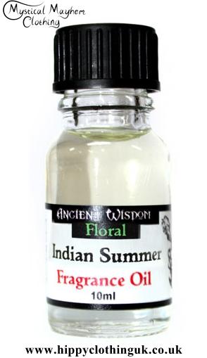 indian summer floral fragrance oil for oil burners 10ml. Black Bedroom Furniture Sets. Home Design Ideas