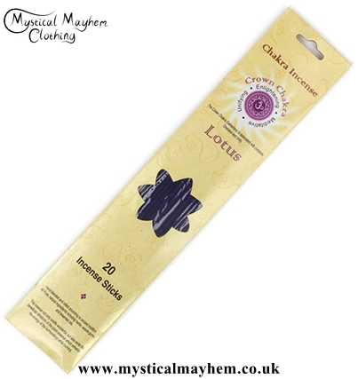 Crown Chakra Lotus Incense Sticks