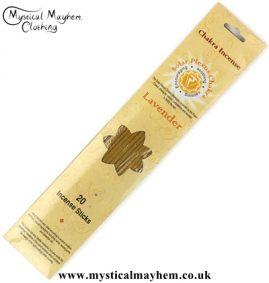 Solar Plexus Chakra Laevnder Incense Sticks