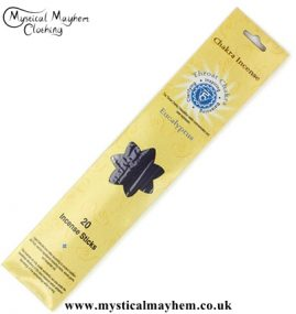 Throat Chakra Eucalyptus Incense Sticks