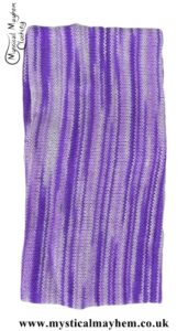 Standard Stretchy Knitted Cotton Hippy Head band Purple