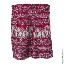 Red-Elephant-Mini-Skirt