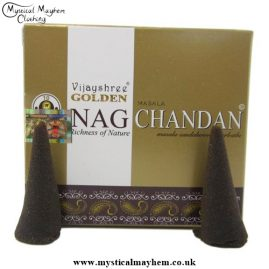 Nag Golden Chandan Sandalwood Incense cones