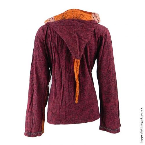 Burgundy-Pixie-Hooded-Jacket