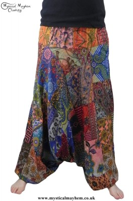 Example Patchwork Hippy Harem Trousers