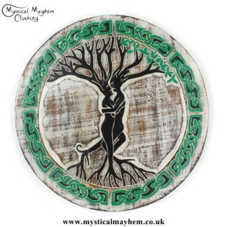 Tree Couple Handmade Wooden Plaque