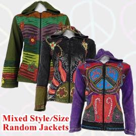 Random Style/Size Cotton Pixie Jackets
