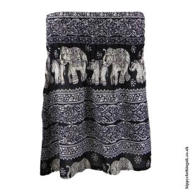 Black-Elephant-Mini-Skirt