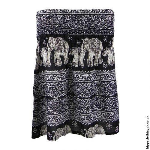 Black-Elephant-Mini-Skirt