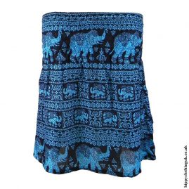 Bright-Blue-Elephant-Mini-Skirt