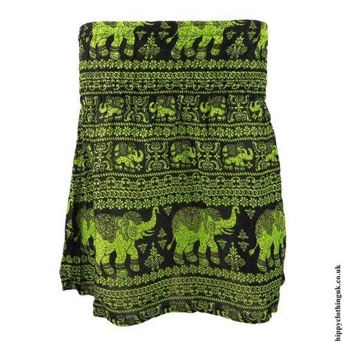 Bright-Green-Elephant-Mini-Skirt