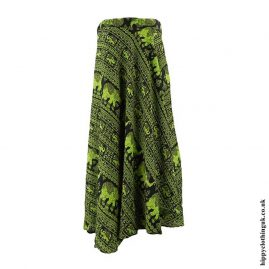 Green-Elephant-Wrap-Skirt
