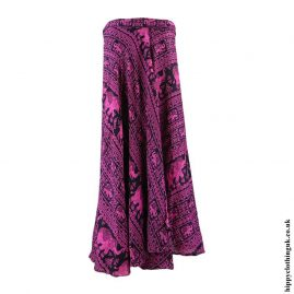 Pink-Elephant-Wrap-Skirt