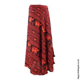 Red-Elephant-Wrap-Skirt