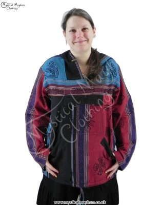 Nepalese Hooded Hippy Top Female