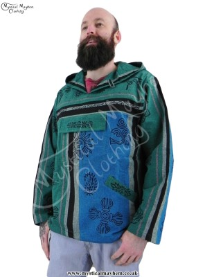 Nepalese Hooded Hippy Top Male