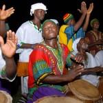 Dashiki Shirts worn by African Drummers