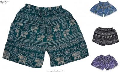 Fair Trade Thai Rayon Shorts