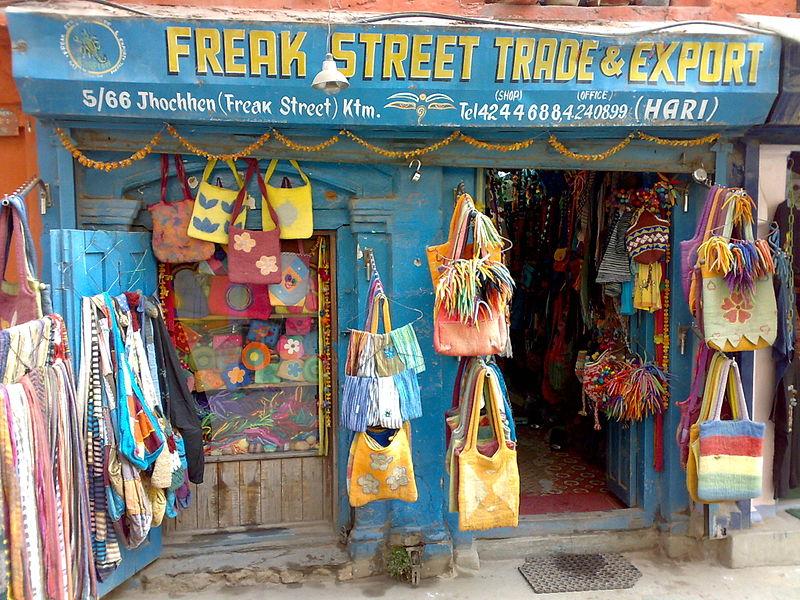 Freak Street - Nepal