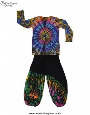 Hippy Clothing UK - Gents Outfit Idea - Tie Dye Dude!