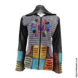 Purple-Embroidery-Sun-Hooded-Jacket
