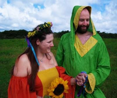 Simon and Nici Mr & Mrs Mystical Mayhem Clothing