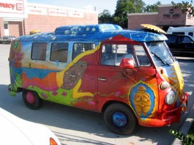 VW Magic Hippie Bus