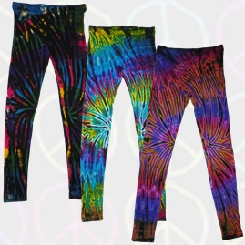 Long Tie Dye Leggings