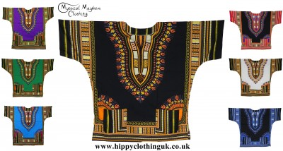 Thai Dashiki Shirts