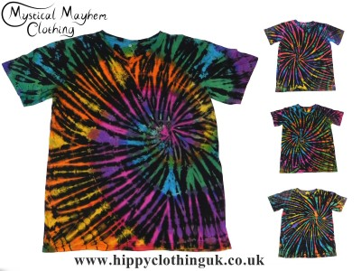 Short Sleeve Tie Dye T-Shirt