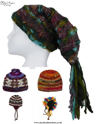 Autumn Hippy Hats