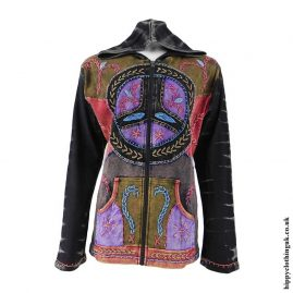 Black-Peace-Sign-Embroidery-Jacket