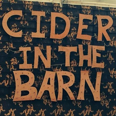 Cider in The Barn