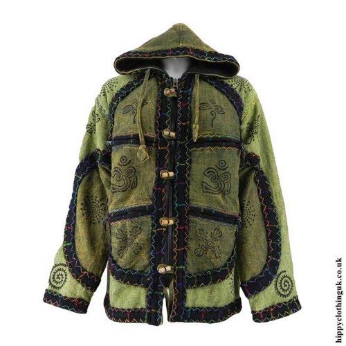 Green-Overdyed-Jacket-with-Felt-Trim