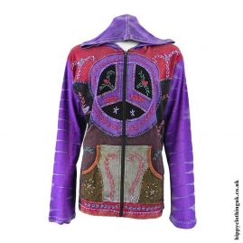 Purple-Peace-Sign-Embroidery-Jacket